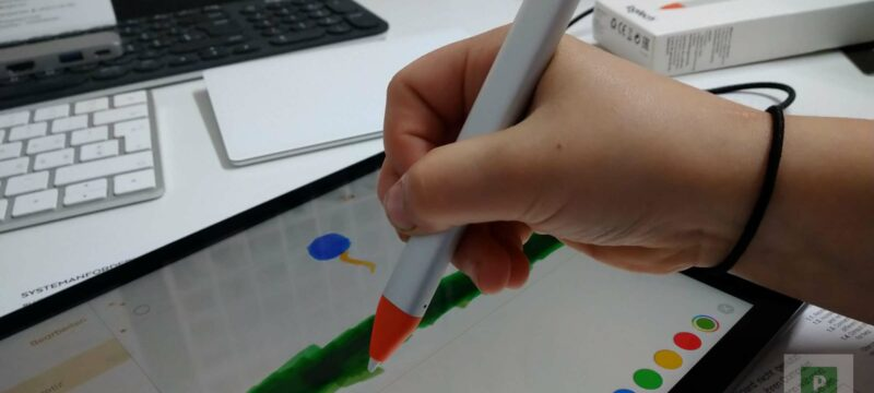 Logitech Crayon mit Apple Pencil