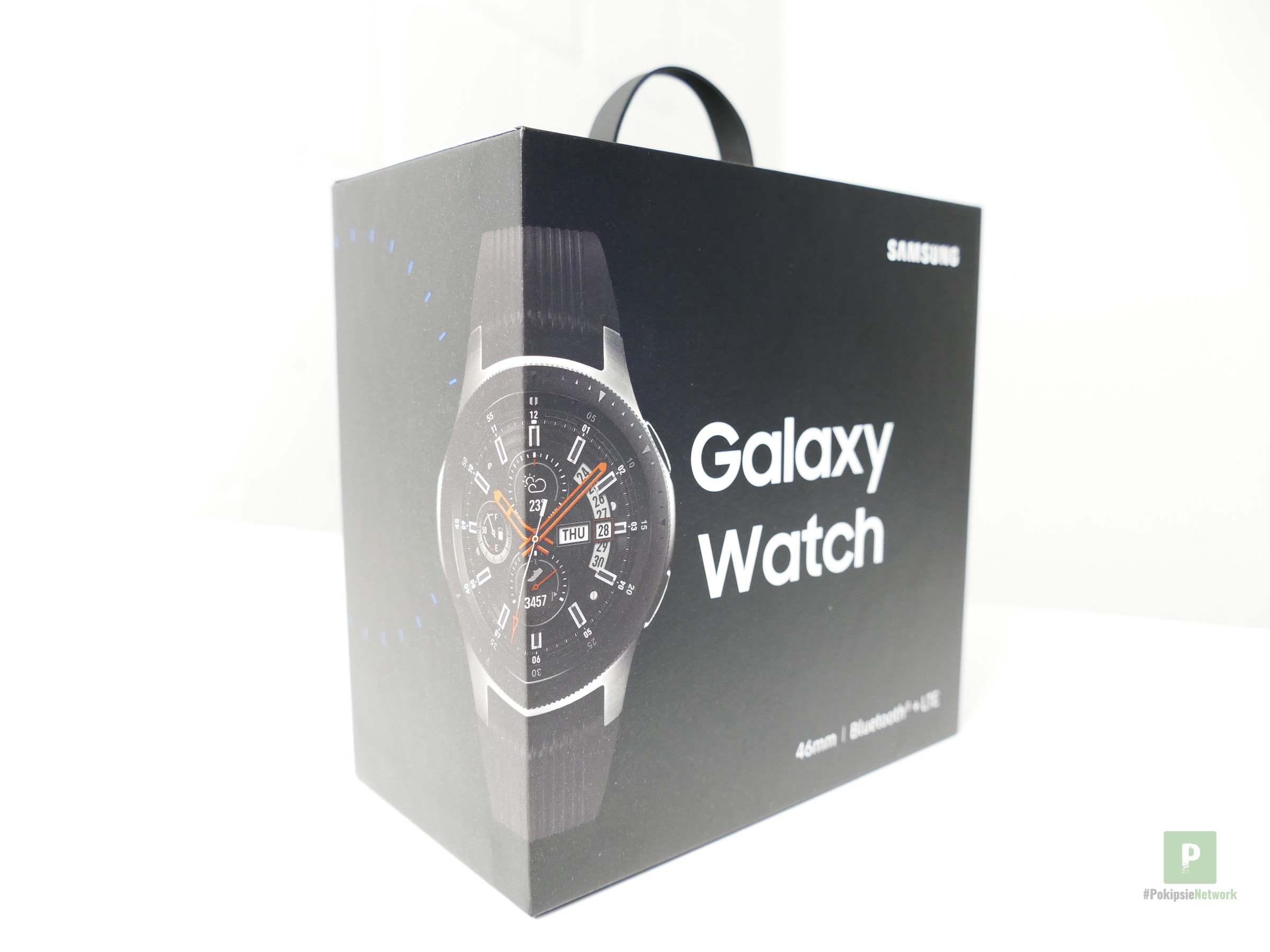Samsung Galaxy Watch – 46 mm Durchmesser, Lünette und LTE
