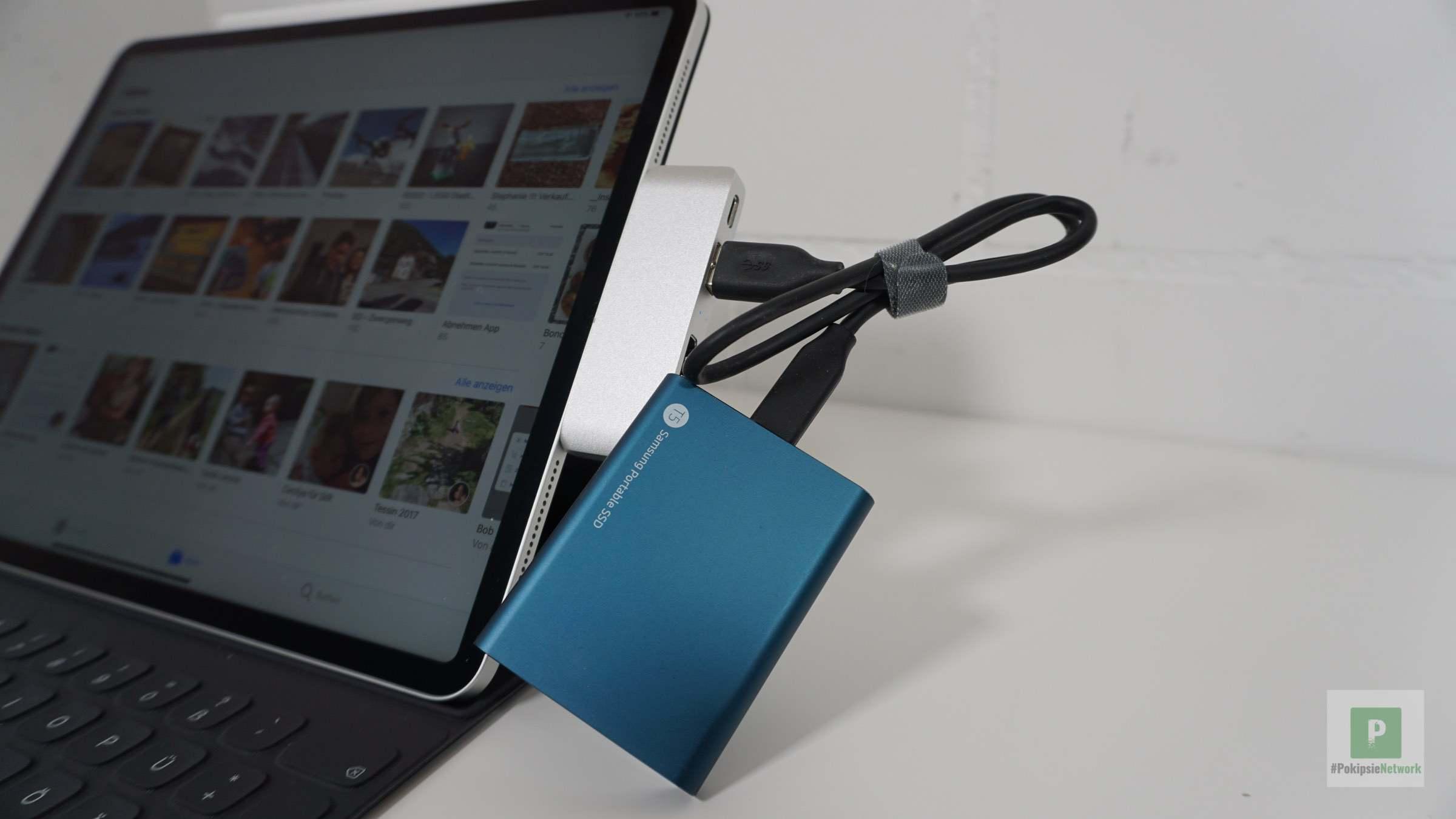 mit externer SSD