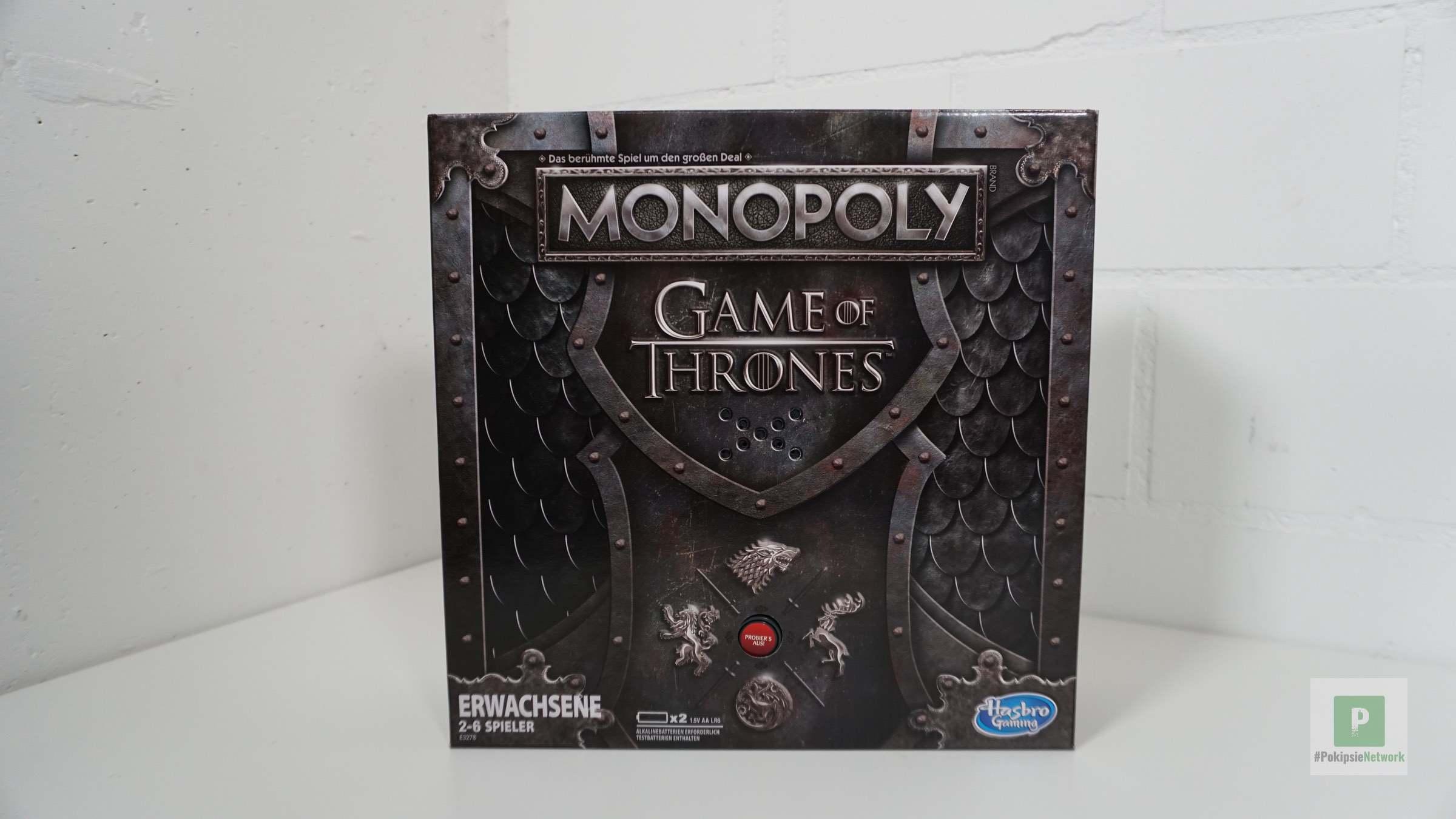 Monopoly Game of Thrones im Test – Serie trifft auf Kultspiel