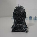 Der eiserne Throne - aus Kunststoff