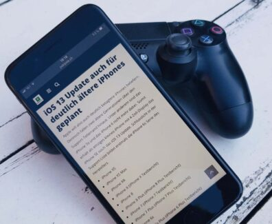 PS4-Controller mit iPhone