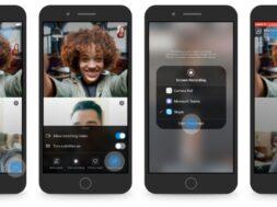 Die Bildschirmfreigabe in Skype fuer Android und iOS