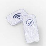 Chices Accessoire das eure Gäste mit dem WLAN verbindet