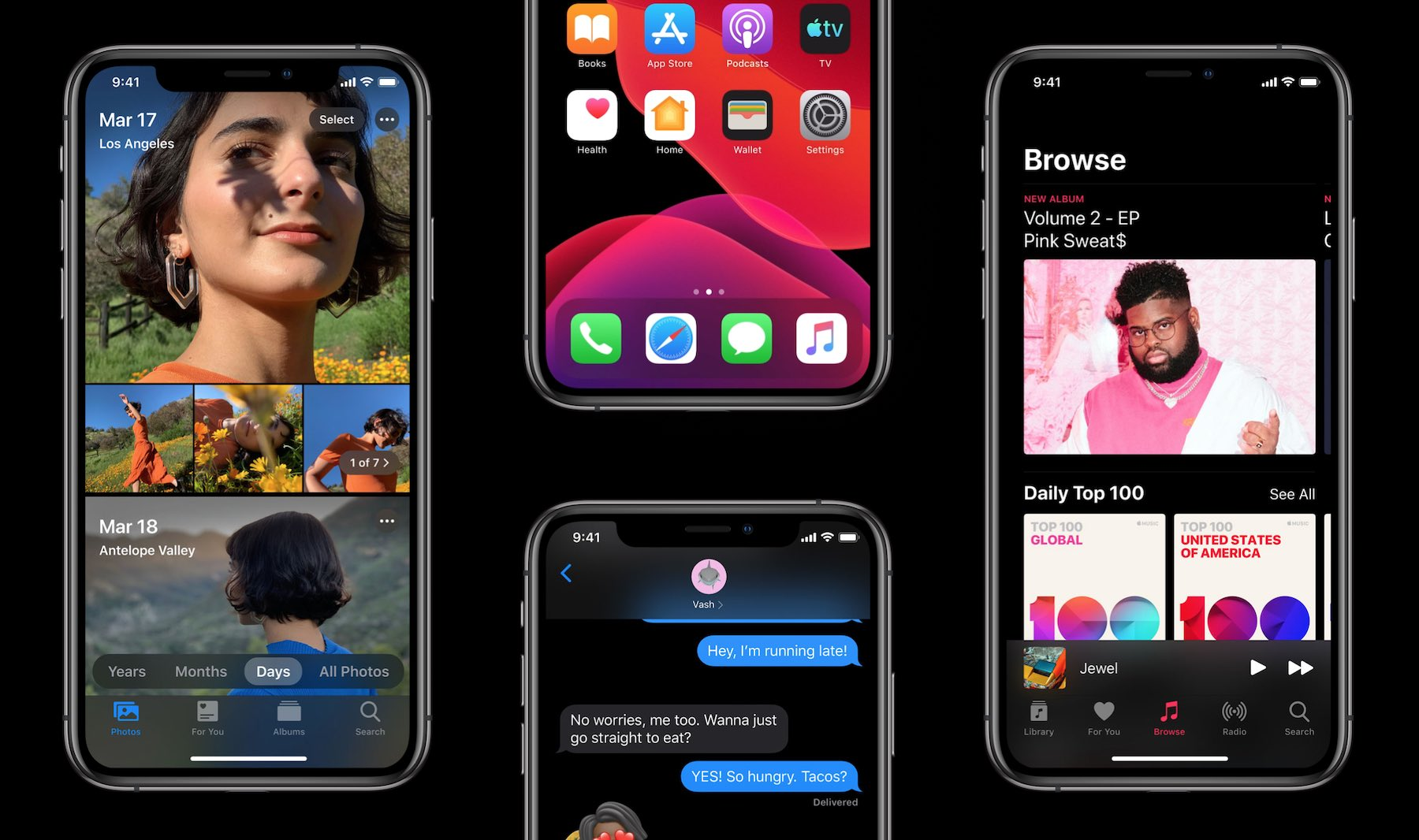 Ab 16. September – iOS 14, iPadOS 14, tvOS 14 und watchOS 7