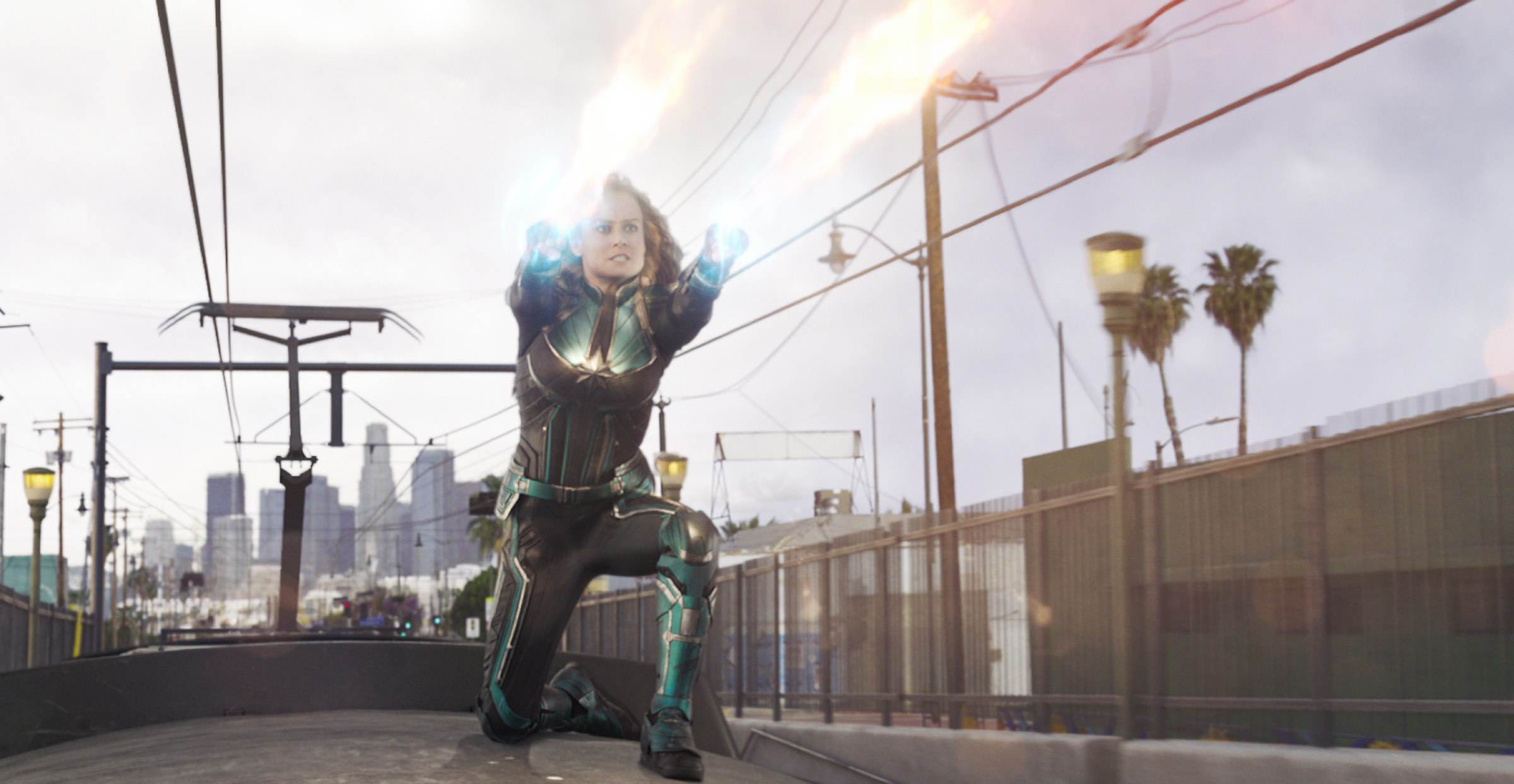 Captain Marvel Photonenstrahl