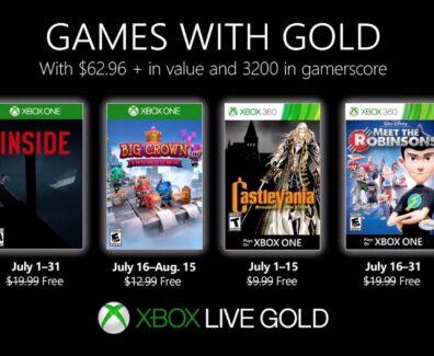 Games with Gold im Juli 2019: Diese Gratis-Spiele sind verfügbar