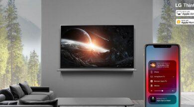 LG Fernseher – Update bringt Apple HomeKit und AirPlay 2