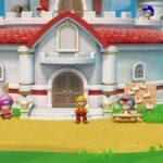Super Mario Maker 2 Peach Schloss