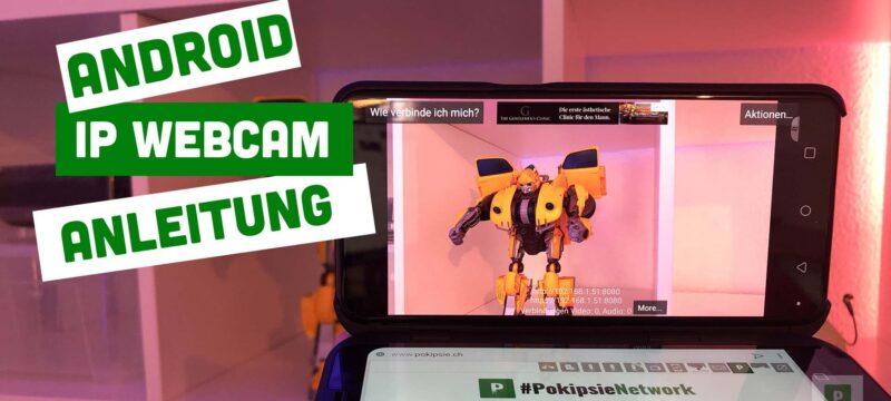 Anleitung für die Webcam