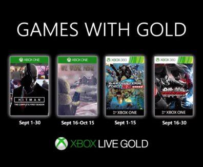 Games with Gold im September 2019: Diese Gratis-Spiele sind verfügbar