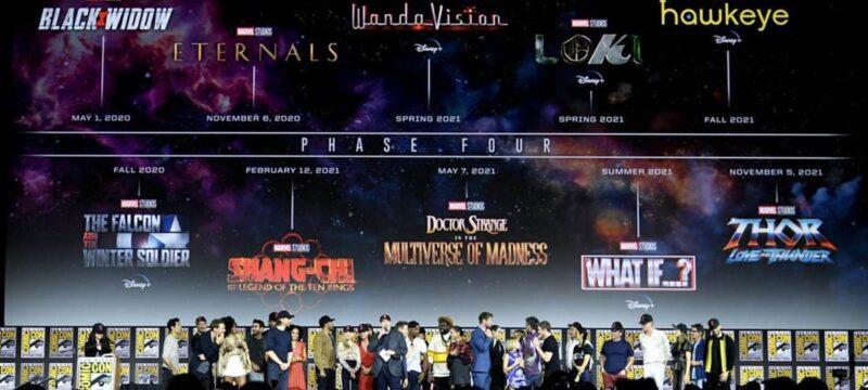 MCU Phase 4: Alle Filme und Serien, Release und Infos
