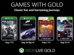 Games with Gold im August 2019: Diese Gratis-Spiele sind verfügbar