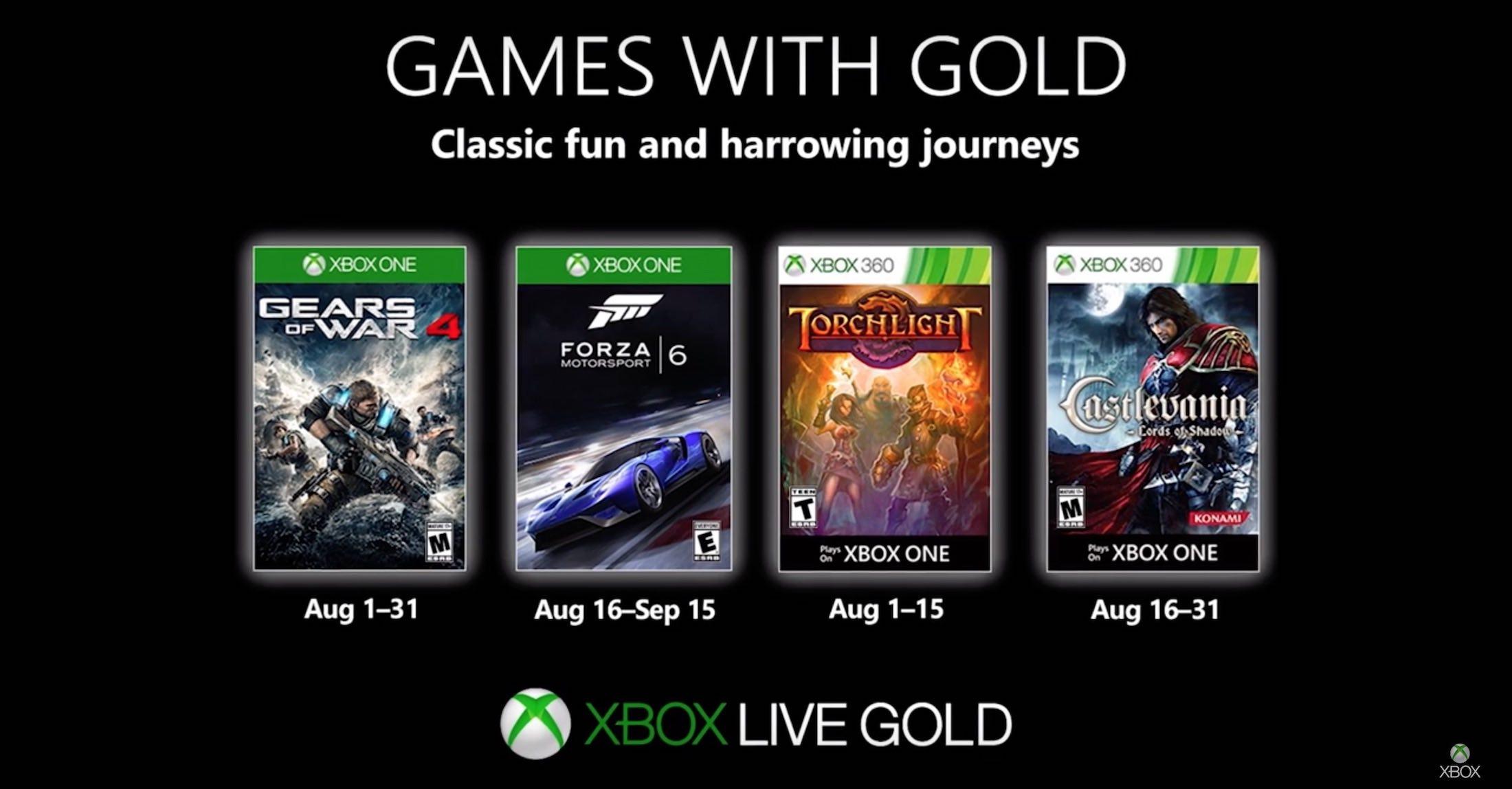 Games with Gold im August 2019: Diese Xbox-Spiele sind kostenlos