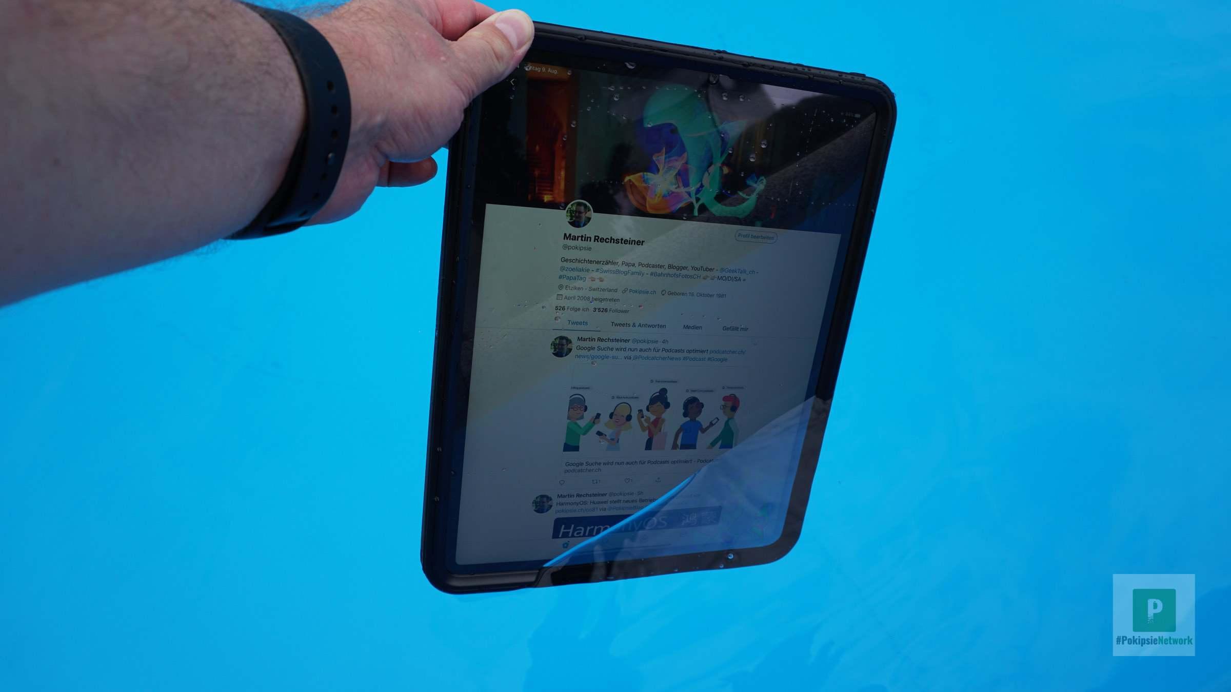 Catalyst Case: Wasserdichte Hülle für das iPad Pro