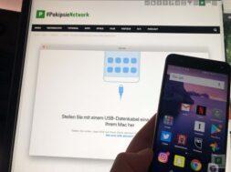 HiSuite – Wie mach ich ein Backup vom Huawei Smartphone