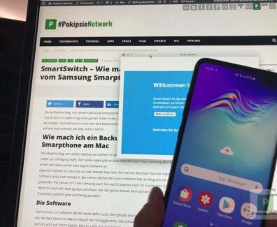 SmartSwitch – Wie mach ich ein Backup vom Samsung Smarpthone am Mac