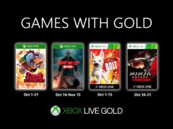Xbox Games with Gold Oktober