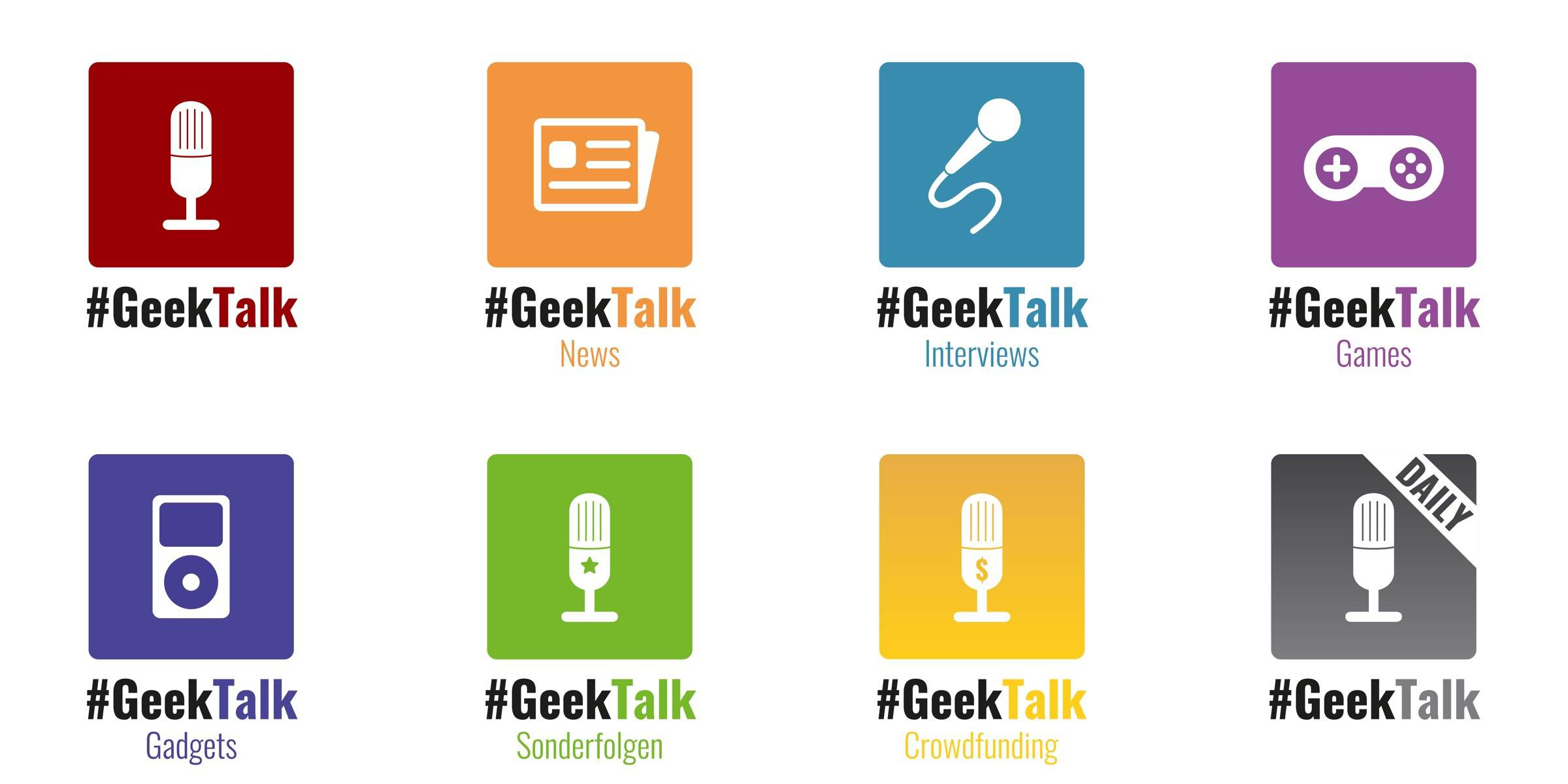 Die #GeekTalk Podcast Formate