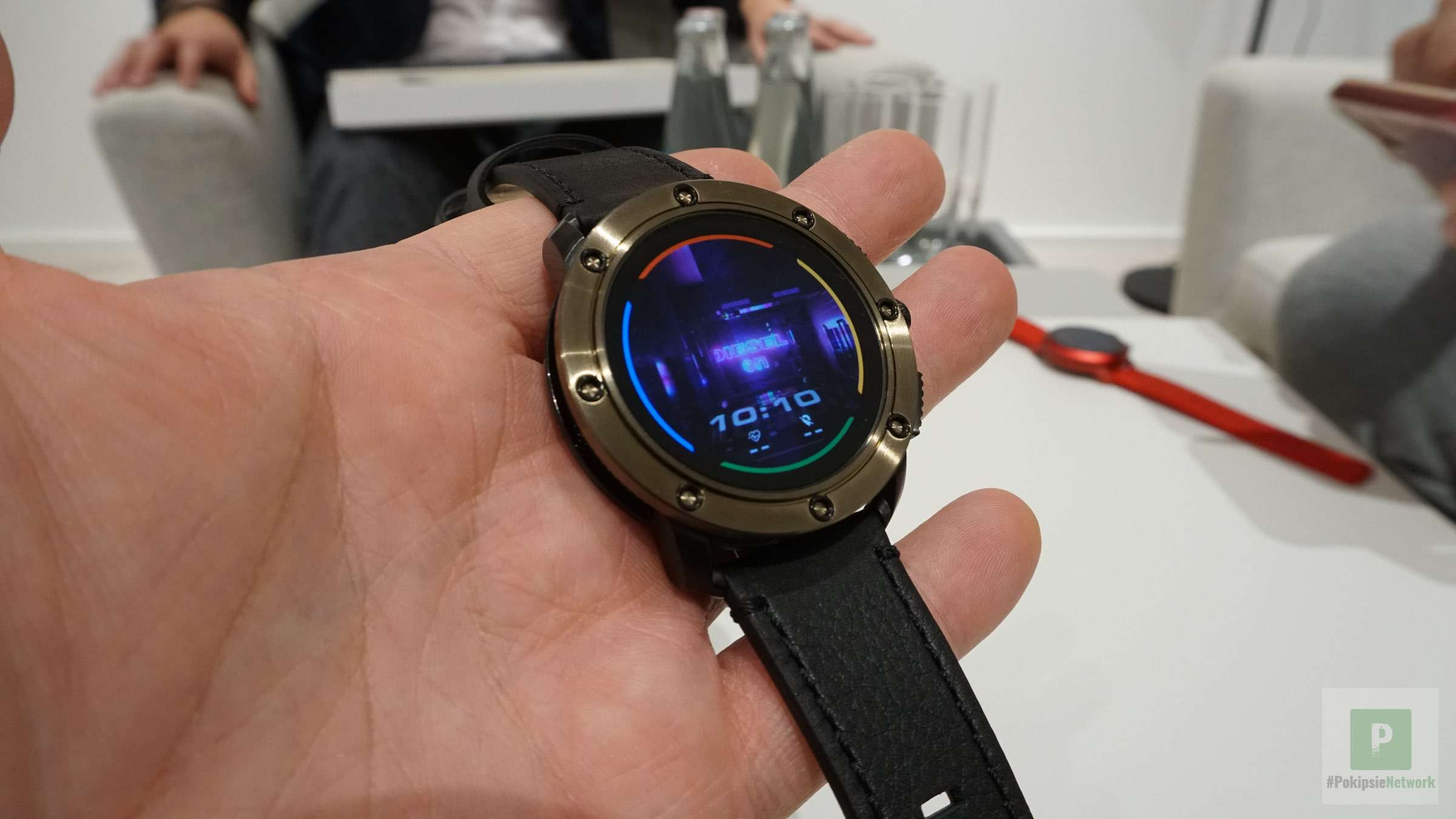 Diesel On Axial: Neue Smartwatch der Fossil Group #IFA2019