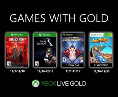 Games with Gold im November 2019