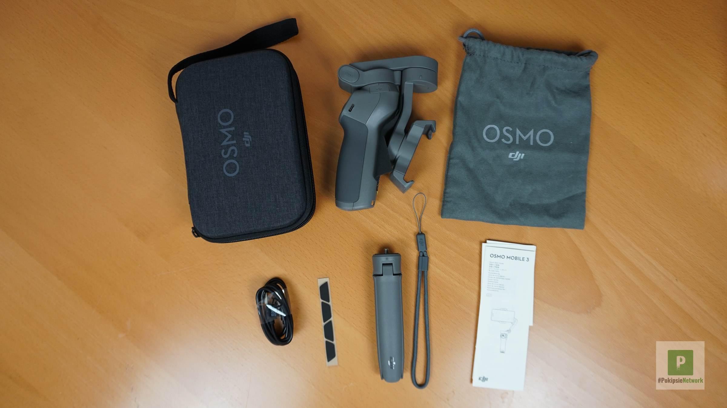 Osmo Mobile 3 ausgepackt