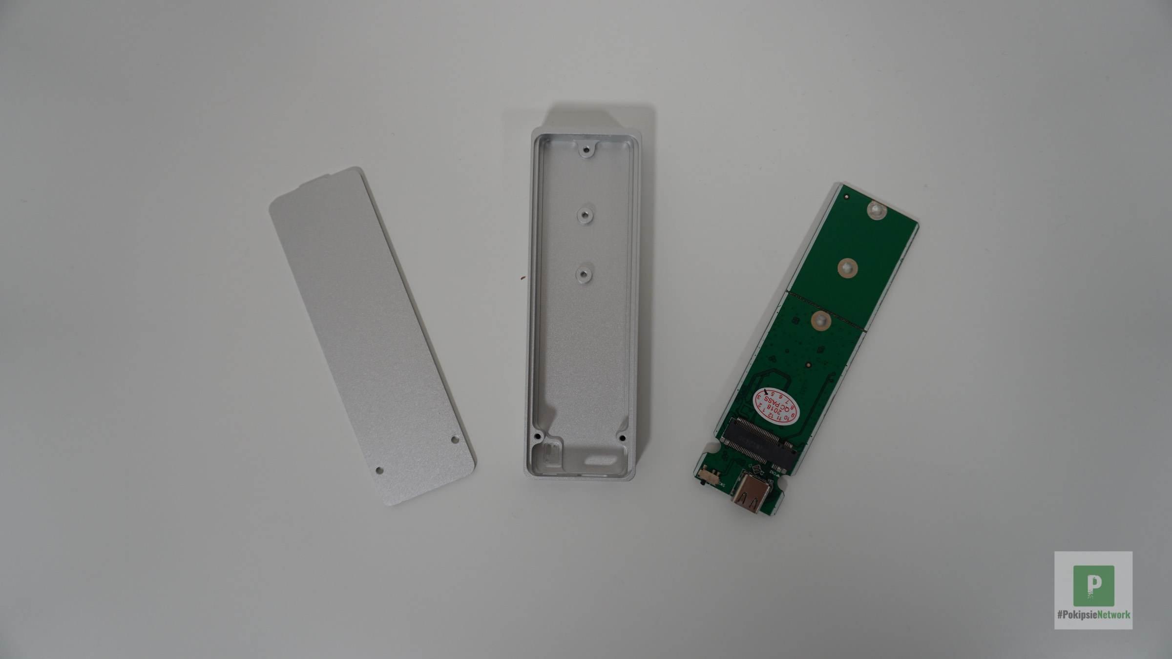 Aufgeschraubt mit M.2 SSD