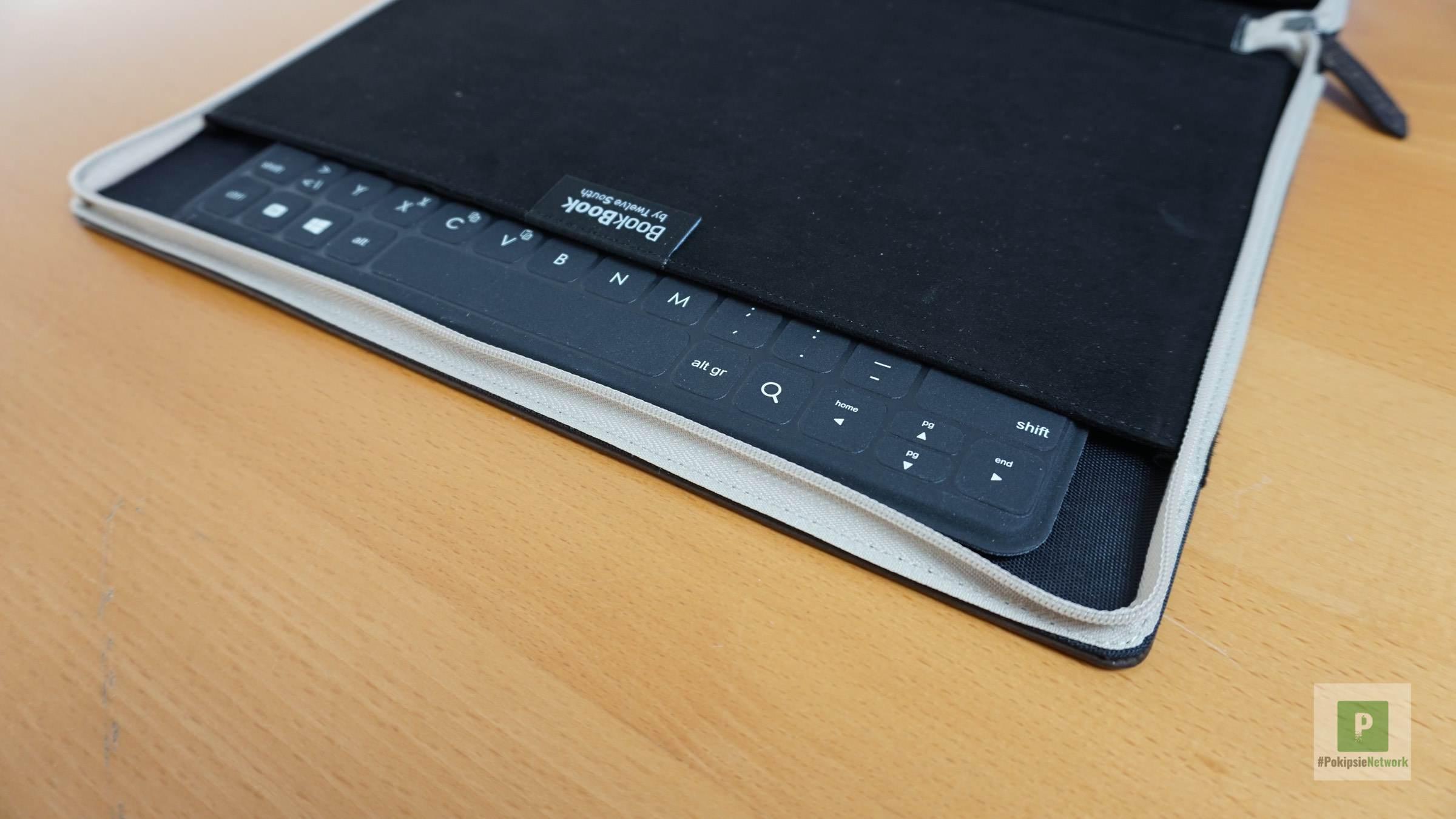 Verpackt in meiner BookBook iPad Pro Hülle