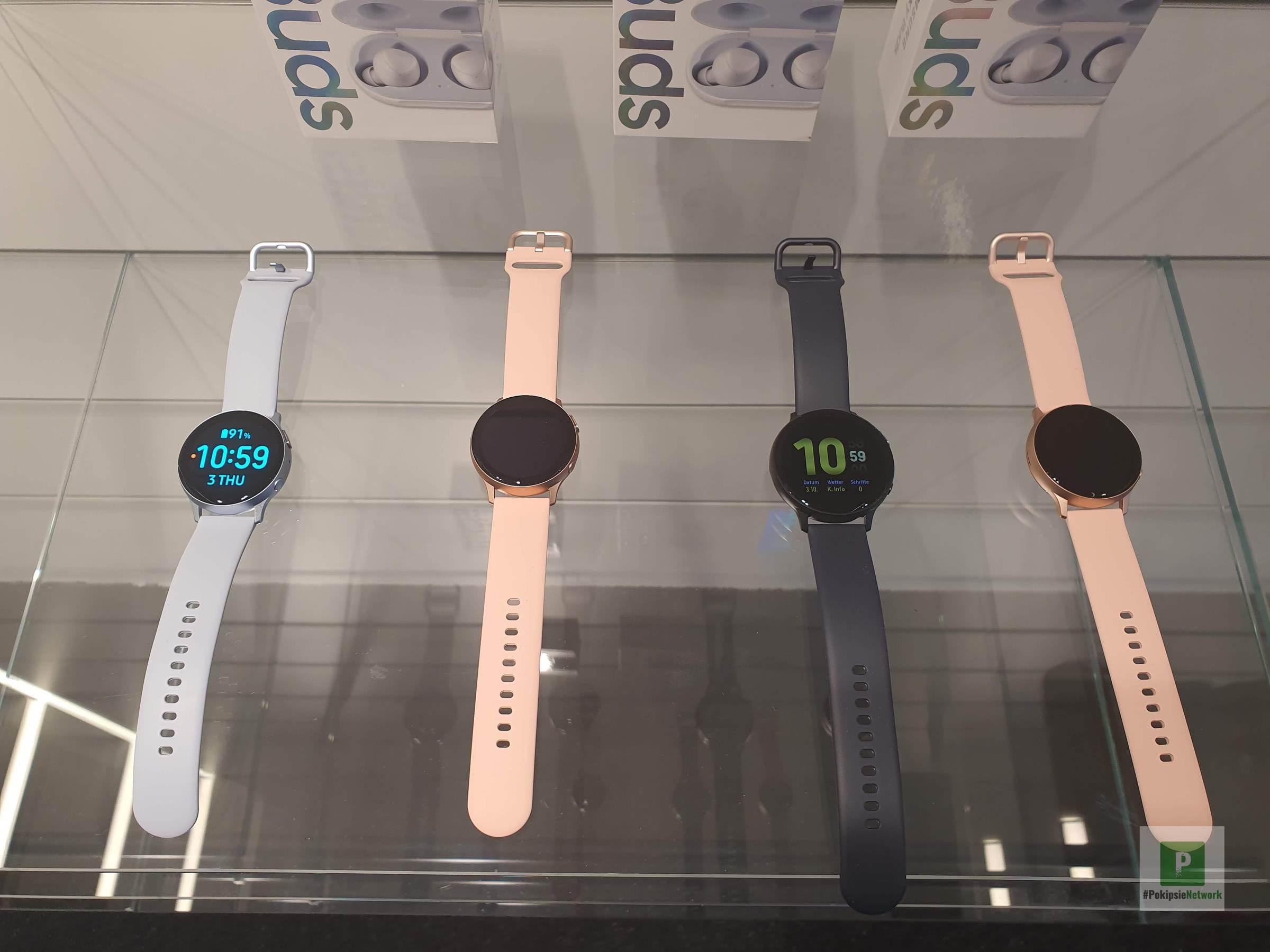 Samsung Galaxy Watch Active 2: Wearable mit mehr Wohlbefinden