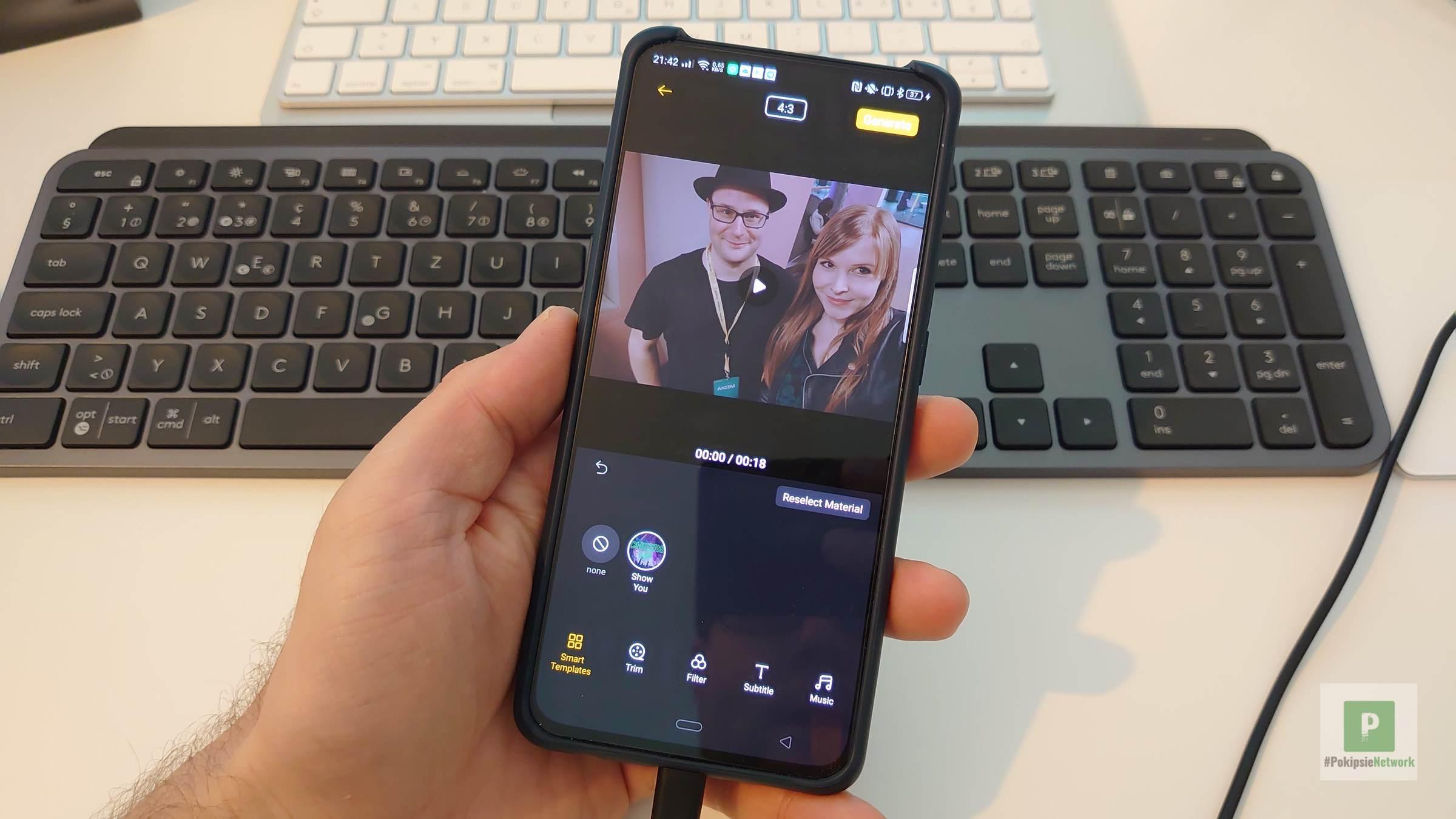 Soloop Video Editor - OPPOs eigener Filmemacher App