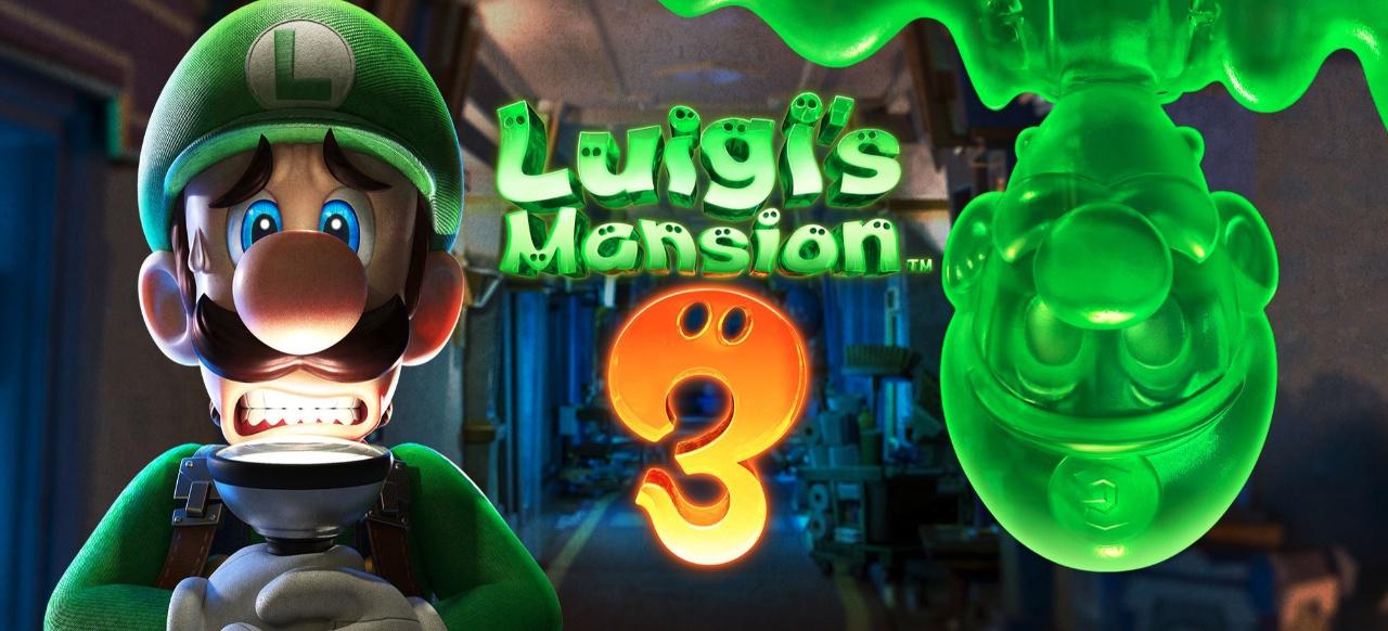 Luigi's Mansion 3 für Nintendo Switch zum heutigen Halloween erschienen