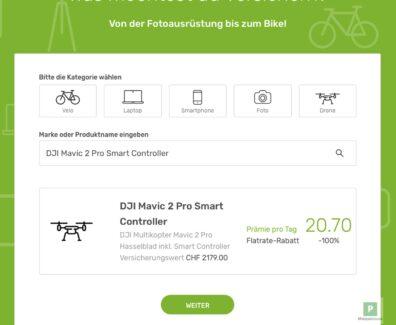 Drohnen Versicherung auf Tagesbasis. mit Lings – 3