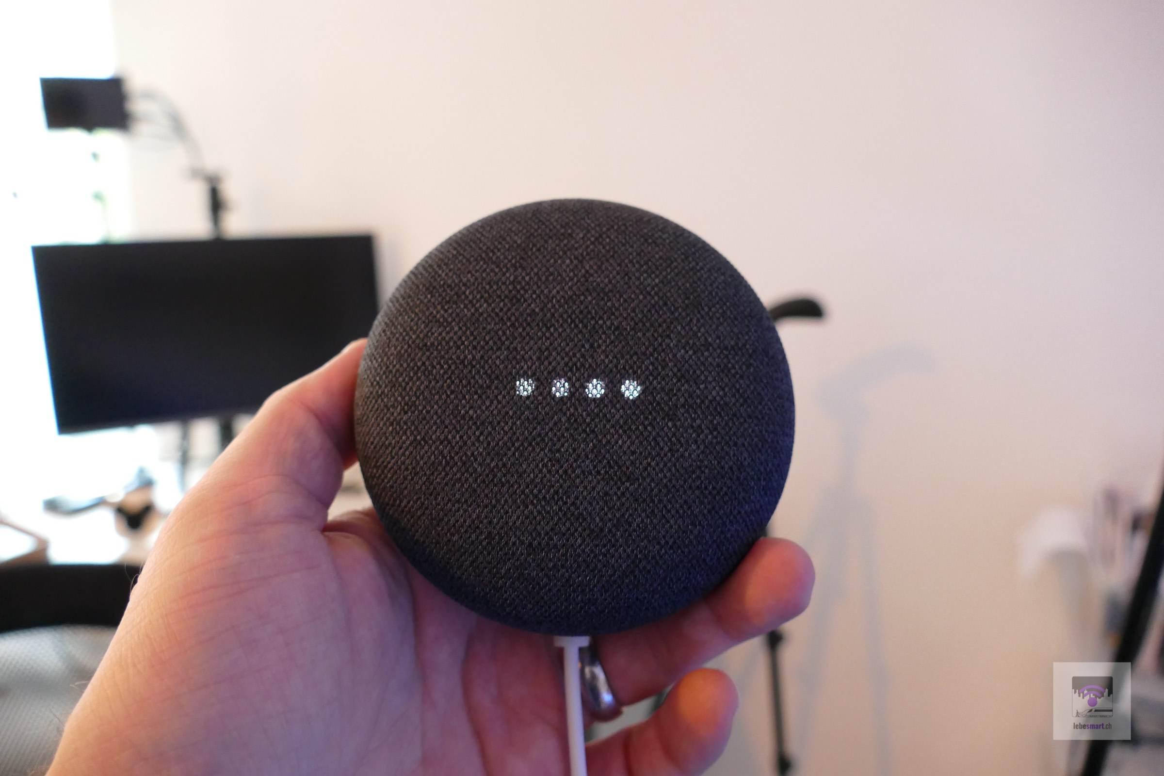 Google Nest Mini – Kleiner Sprachassistent mit mehr Audiopower
