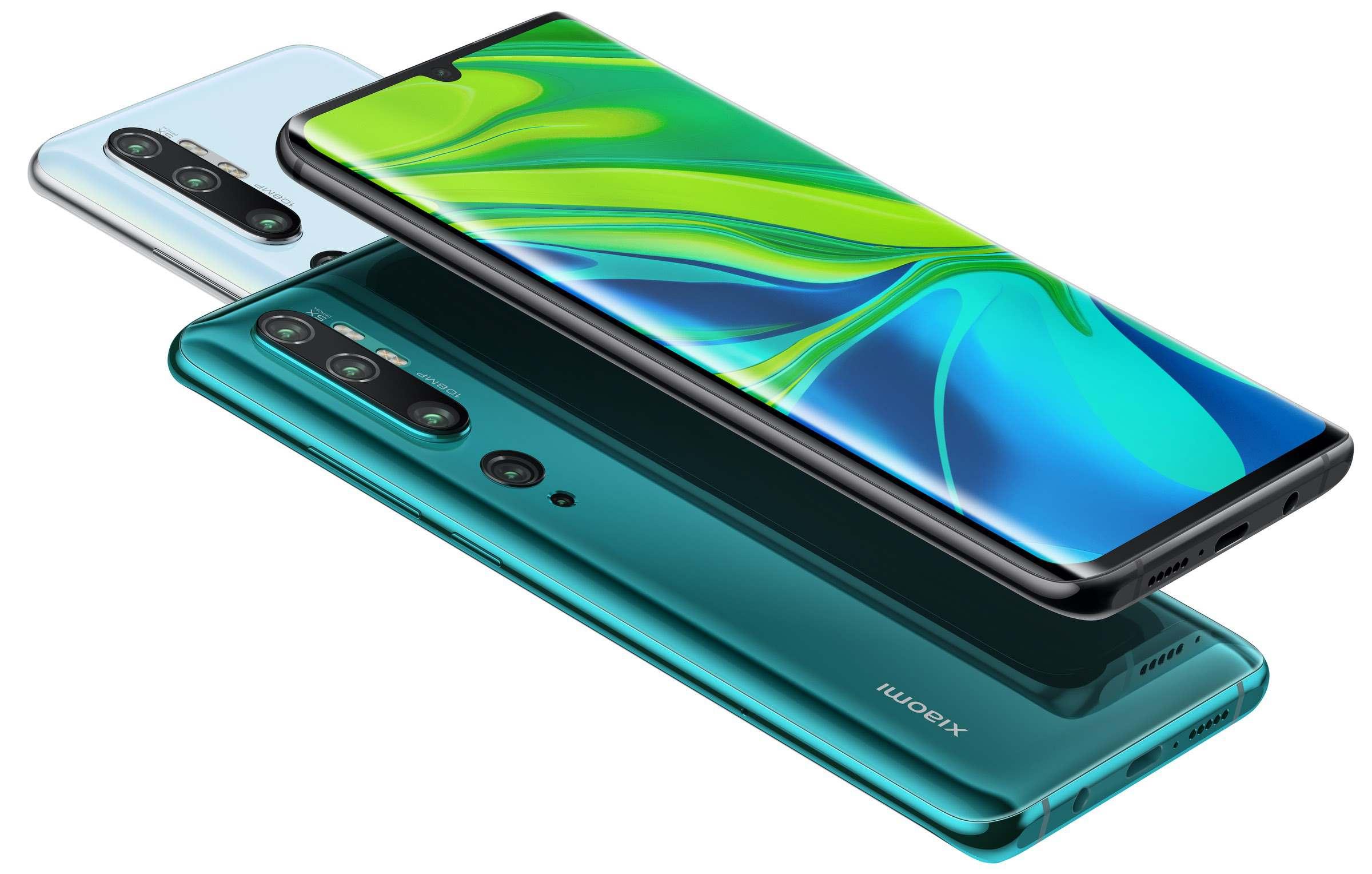Xiaomi Mi Note 10 und Redmi Note 8T: Viel Kamera und günstiger Preis