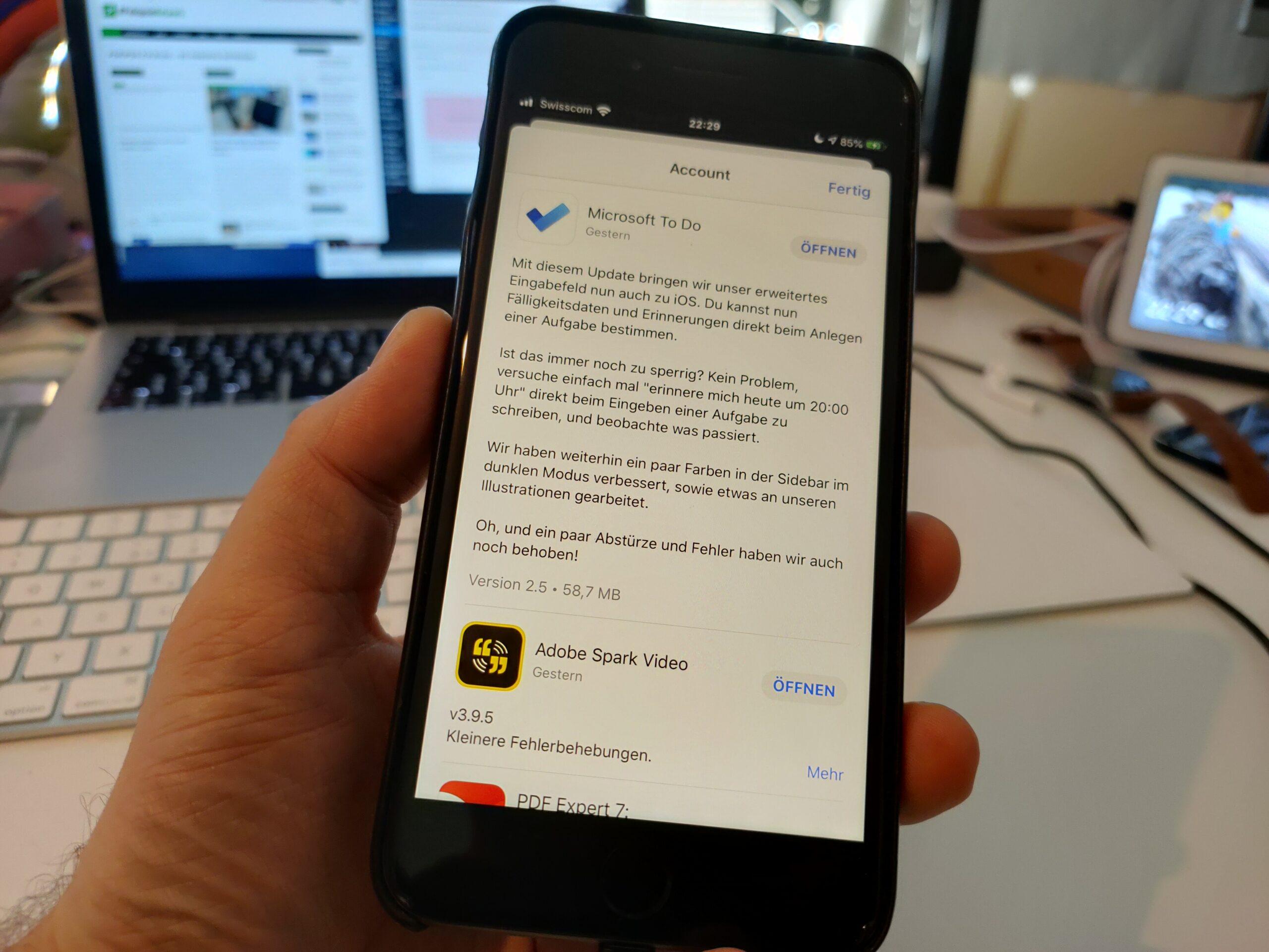 Microsoft To-Do für iOS: Endlich mit natürlicher Sprache
