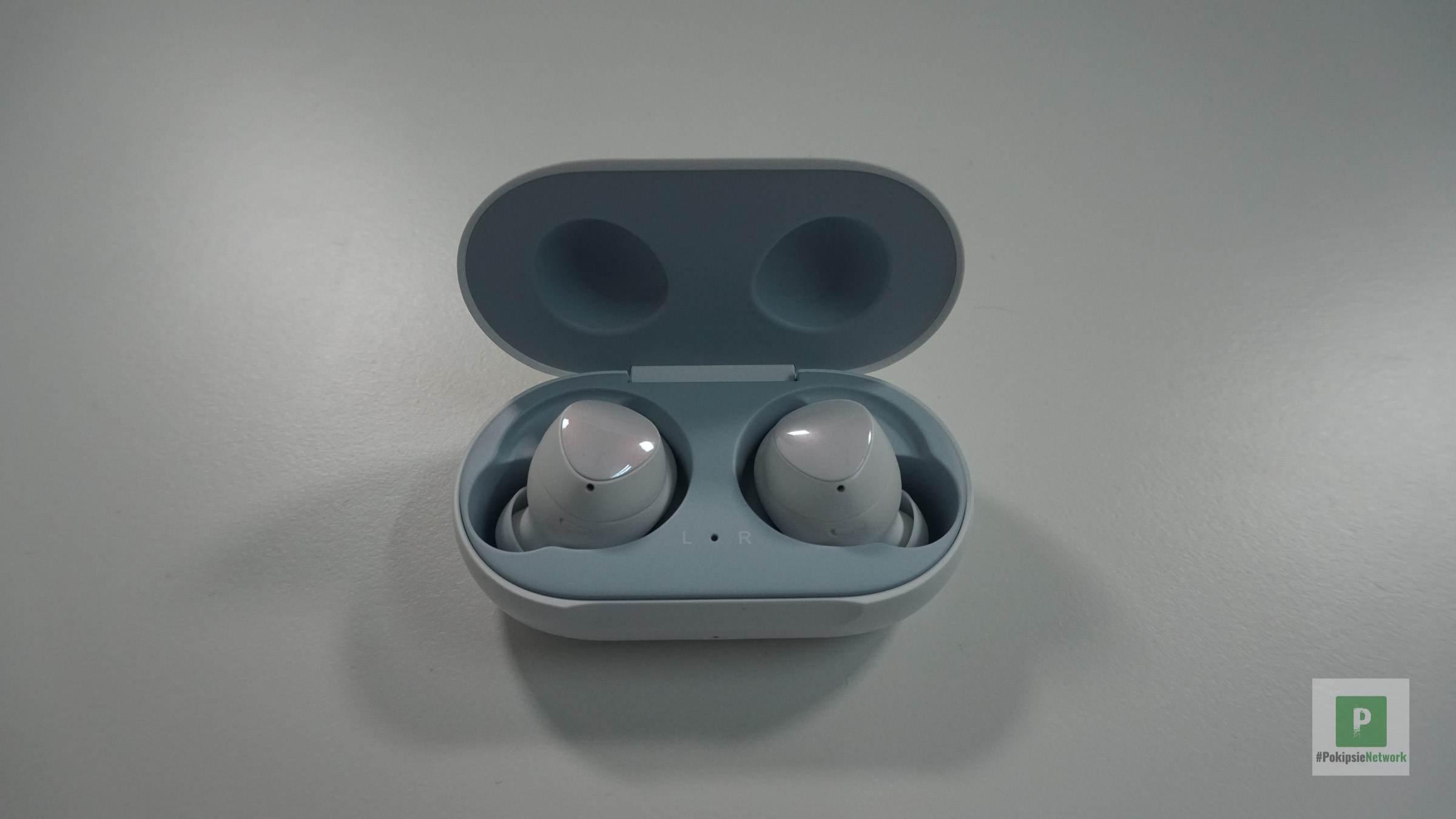 Direkter Blick auf die Kopfhörer