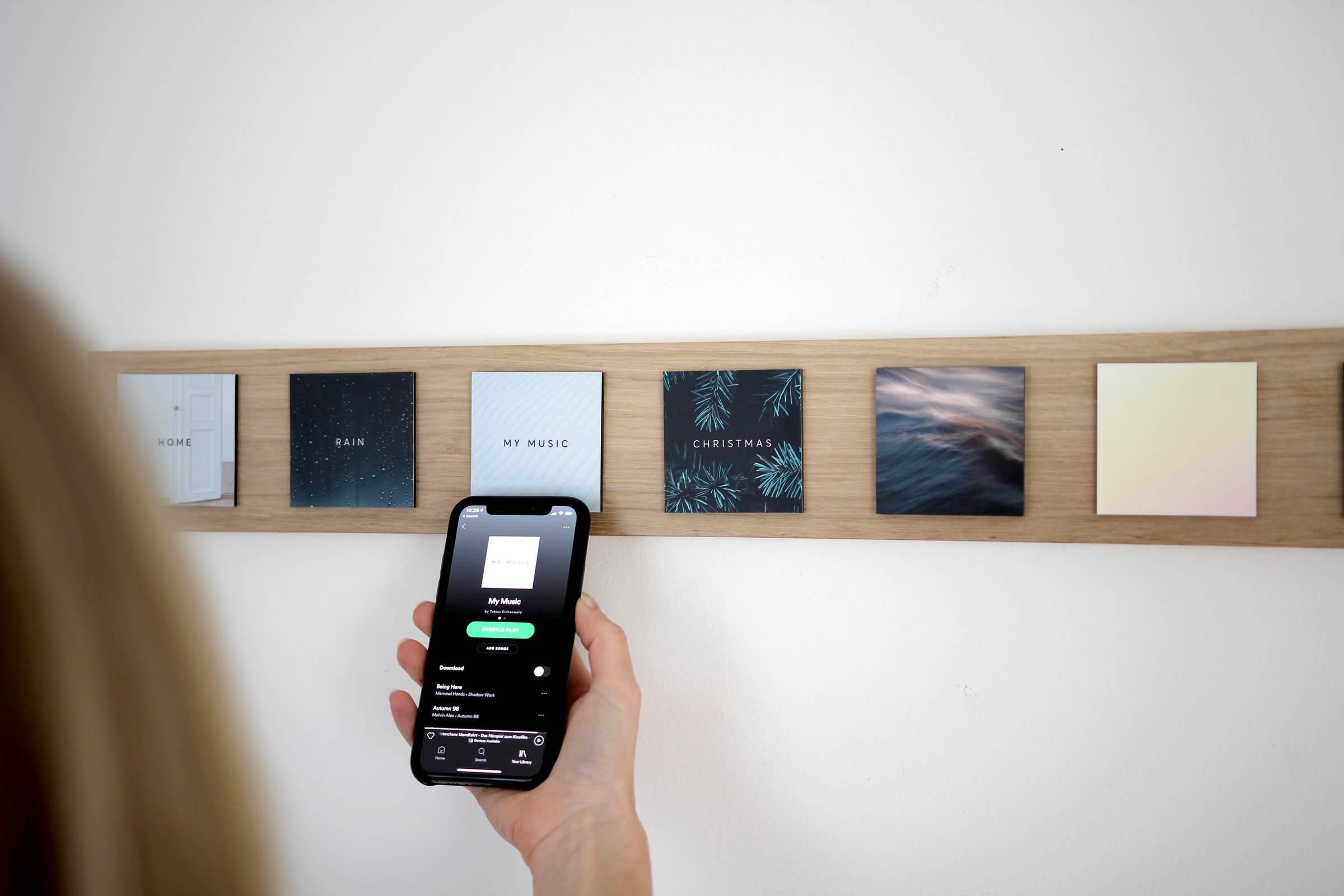 Senic Muse Block: smarte NFC-Blöcke für die Musikwiedergabe