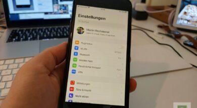 Tutorial – iOS 13 Hotspot – Mit Familienfreigabe und mehr