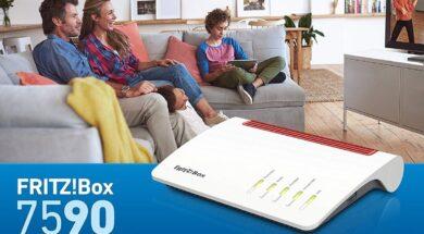 Fritzbox 7590 WLAN WPA3