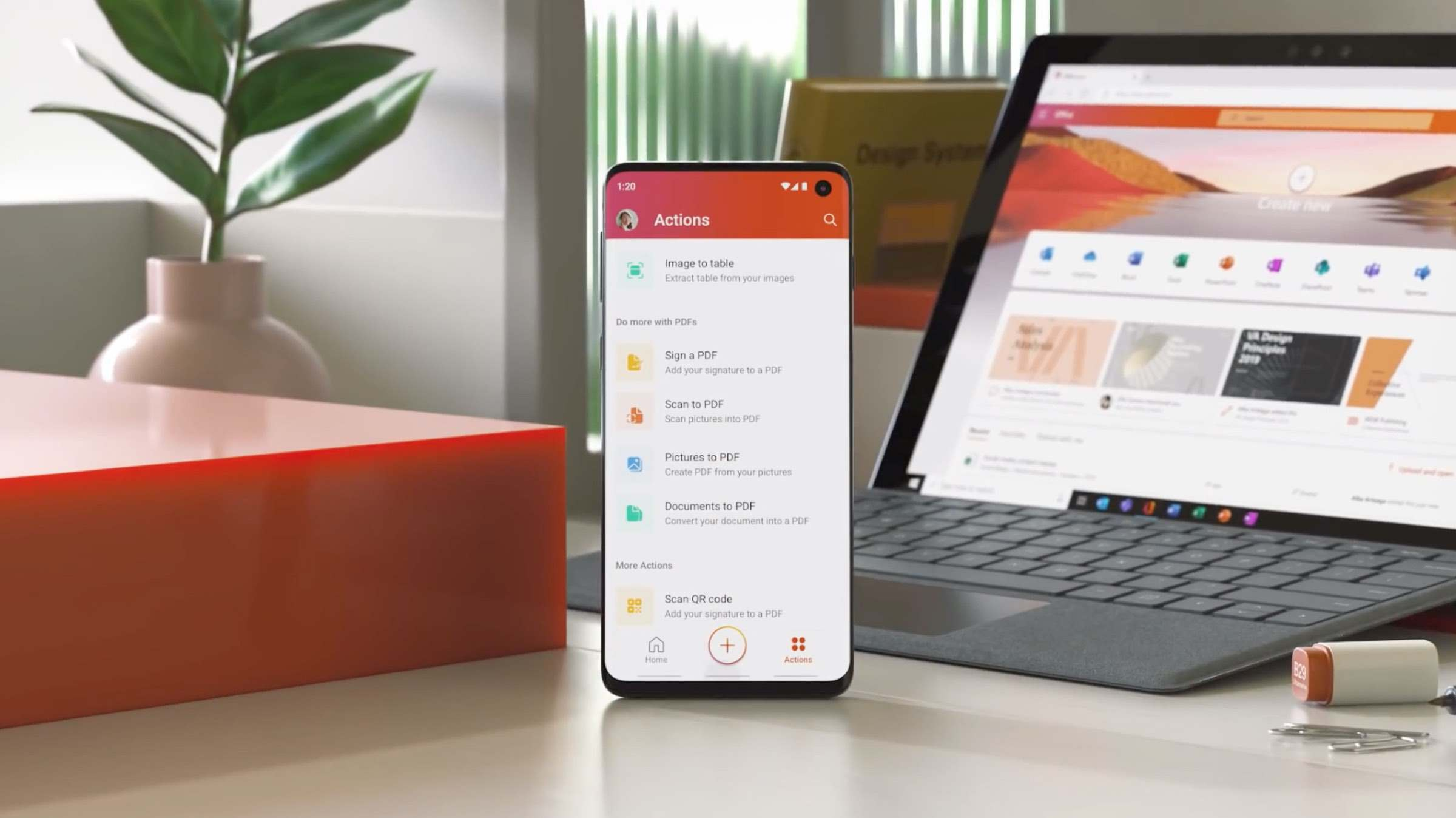 Microsoft Office App: Word, Excel und PowerPoint in einer App vereint