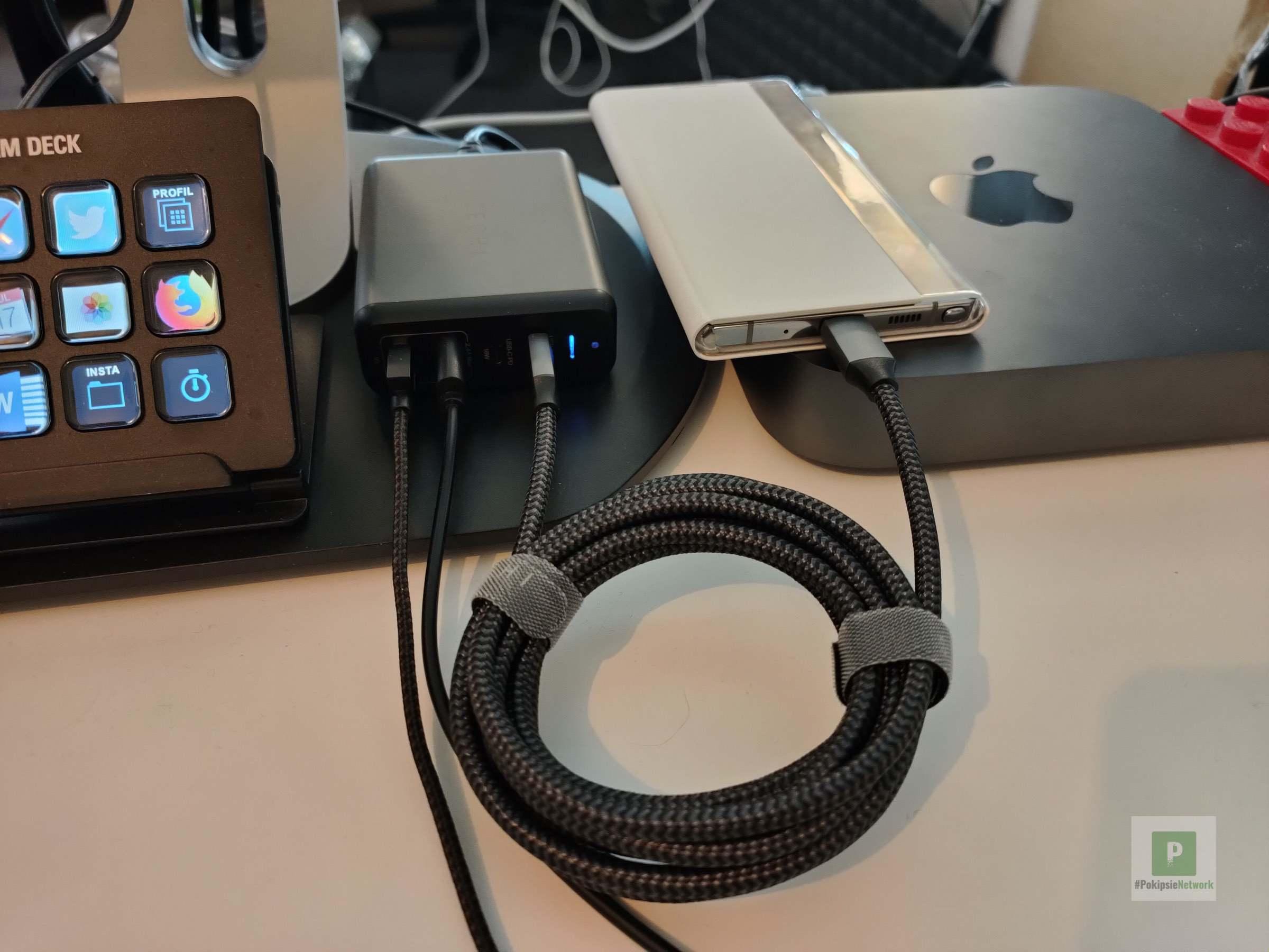 Satechi USB-C auf USB-C 100 W Kabel im Test