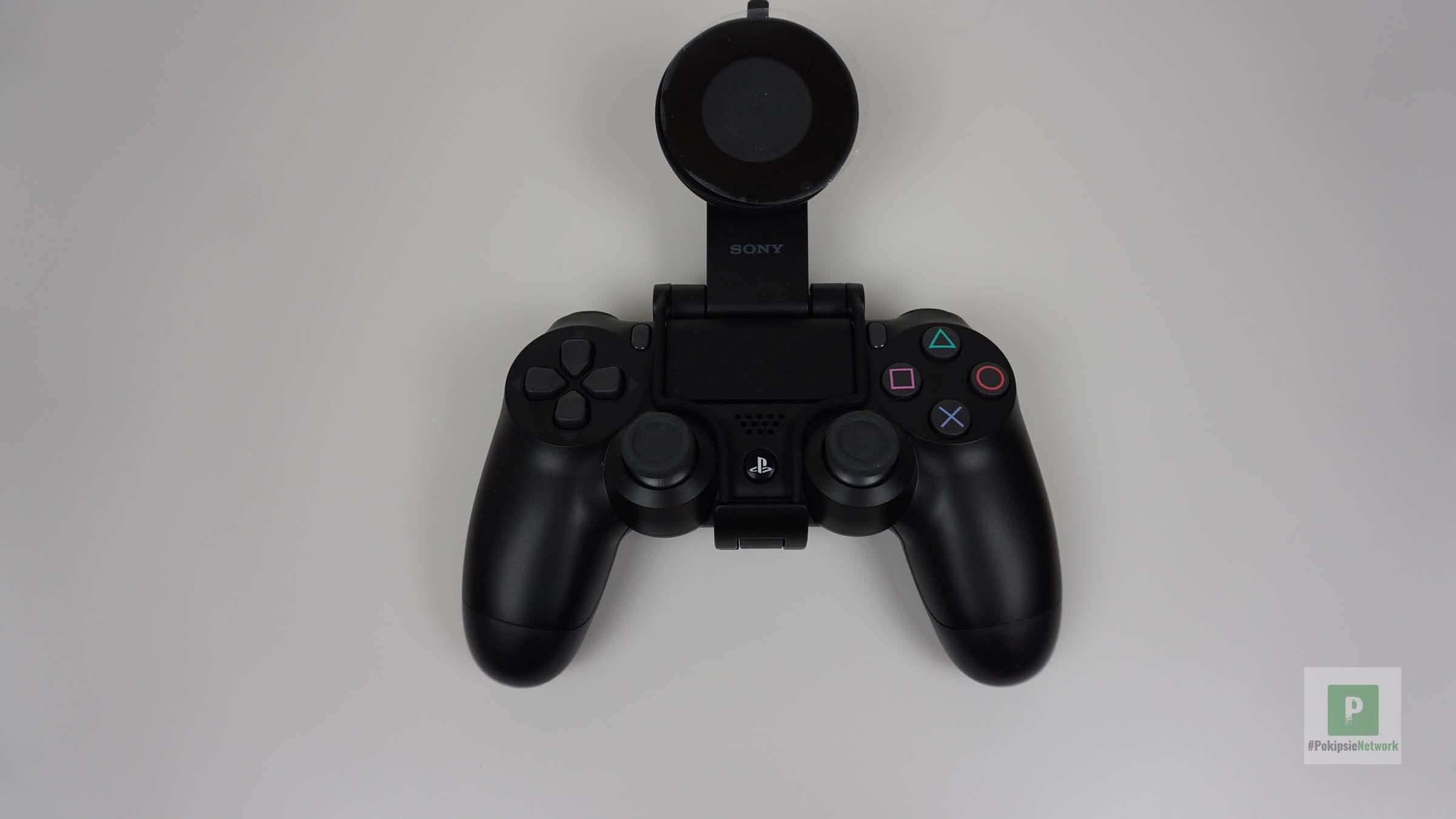 Der Controller mit montiertem Adapter