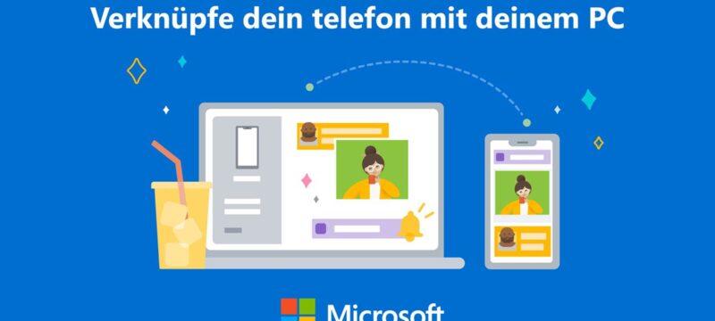 Your Phone – Anrufe am PC Entgegen nehmen