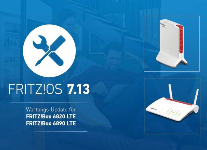 FRITZ!OS 7.13 für die FRITZ!Box 6890 LTE