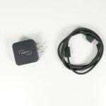 Ladekabel und das amerikanische USB-Ladegerät