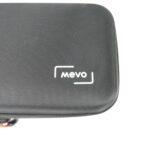 Das Mevo-Brand auf der Transporttasche