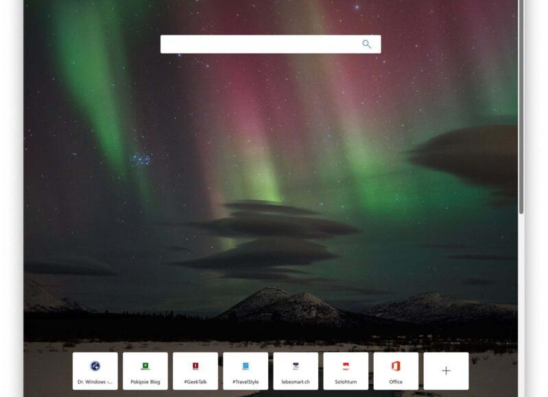 Microsoft Edge – Neuer Browser auf Chromium Basis