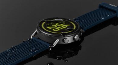 Touchscreen Smartwatch aus Dänemark