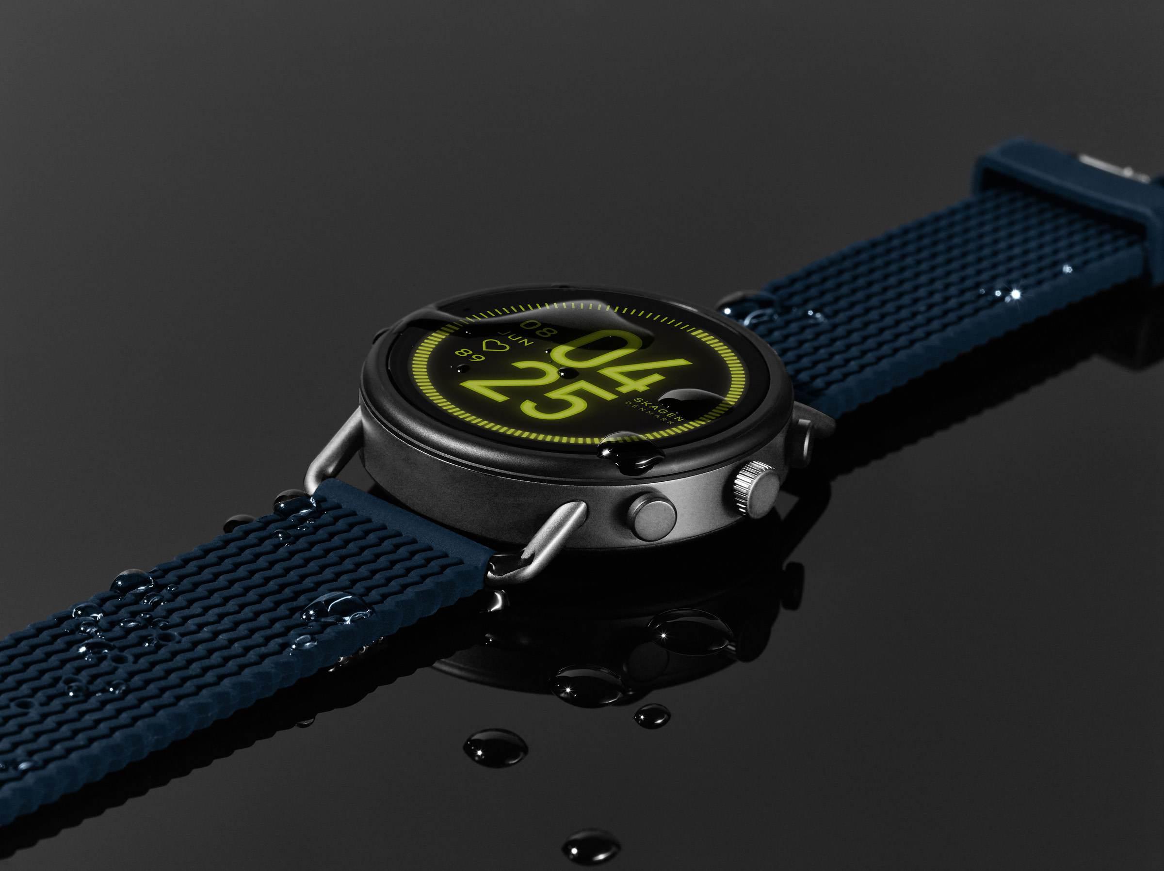 SKAGEN Falster 3 – Touchscreen Smartwatch aus Dänemark #CES2020