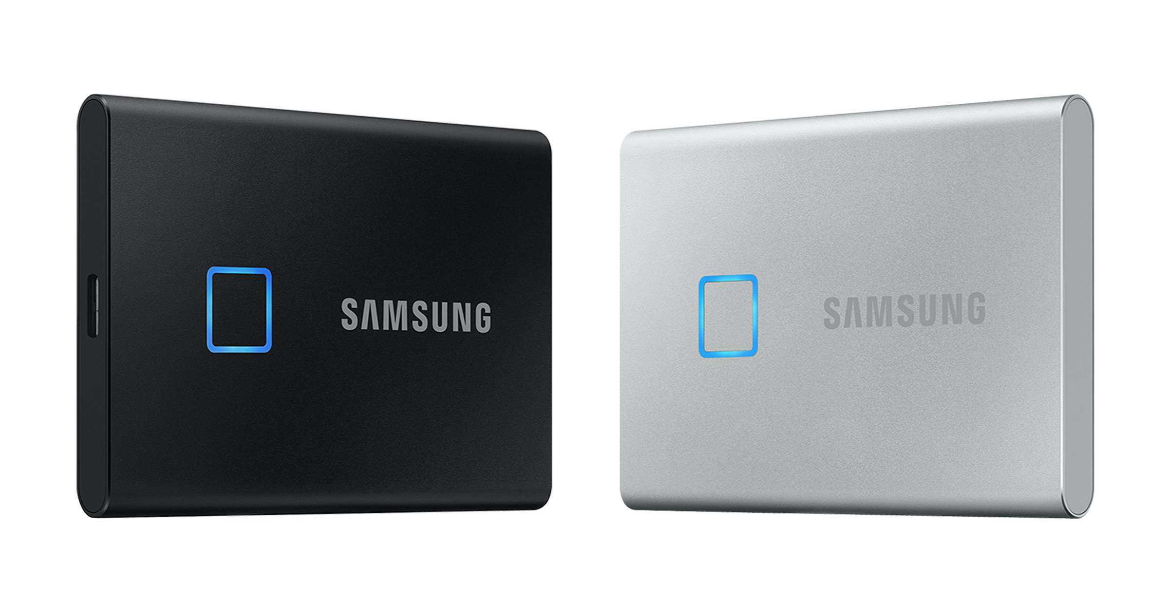 Samsung SSD T7 Touch: Festplatte mit Fingerscanner auf der #CES2020